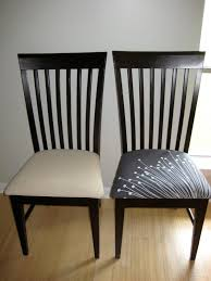 Recover Chair How To Recover Dining Room Chairs For Goodly Recovering Dining Room