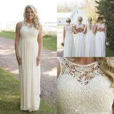 2017 cheap plus size bridesmaid dresses lace top high waist