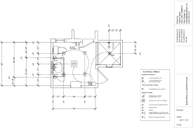 Electrical Plan Cad Drawings Valerie Lasker Design