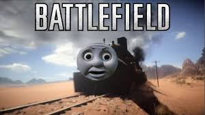 Thomas The Tank Engine Meme - thomas the battlefield 1 engine youtube