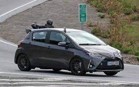 toyota sienna europe toyota yaris grmn spied for the first time with 5 door body