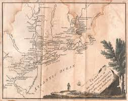 Map Of Michigan And Canada by 1785 To 1789 Pennsylvania Maps