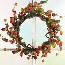 twig wreath fall artificial berry and twig wreath wreaths floral supplies