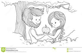 adam and eve stock illustration image 68693320