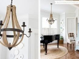 Wine Barrel Chandelier For Sale Wood Chandelier Lighting Foter