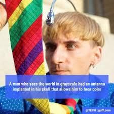 Ted Talk Color Blind Living Colour Jim Butler Meets Neil Harbisson Hole U0026 Corner