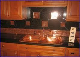 Copper Backsplash Kitchen Interesting Copper Tile Backsplash Kitchen Traditional With