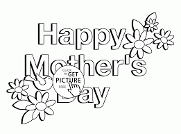 picture for mother u0027s day coloring page for kids coloring pages