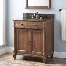 30 neeson vanity for undermount sink rustic brown bathroom