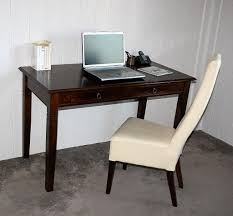 Echtholz Schreibtisch Schreibtisch 130x80x64cm 2 Schubladen Pappel Massiv