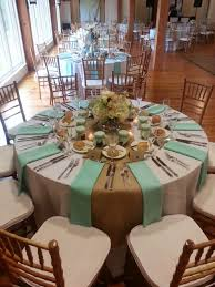 ideas modern wedding table setting round wedding table white