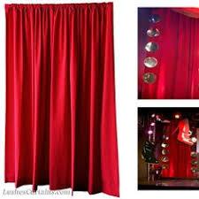 Deep Red Velvet Curtains Pair 2 Deep Red Velvet Drapes Curtain Panel Set 55