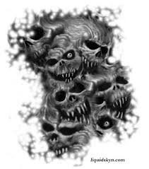 3 skulls tattoo designs pictures to pin on pinterest tattooskid