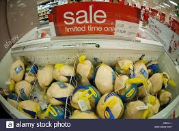 post thanksgiving frozen turkey sale in the grocery department in