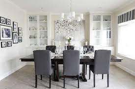Dining Room With China Cabinet by Dining Room Set With China Cabinet With Transitional Crystal