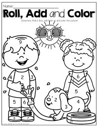 summer review no prep kindergarten math and kindergarten