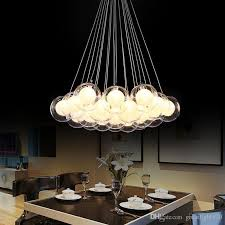 discount newest modern led glass pendant lights led