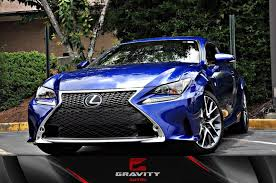 lexus stock rims 2016 lexus rc 350 rc 350 f sport stock 012845 for sale near