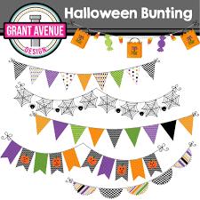 haloween clip art grant avenue design halloween bunting