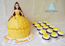 carisa u0027s cakes belle barbie cake and cupcakes