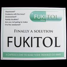 fukitol prescription drug medicine funny work sign doctor u0027s office