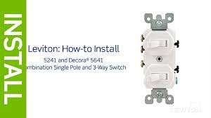 leviton presents how to install a combination device with in single