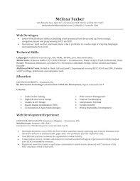 Php Developer Resume Resume Resume Web Developer