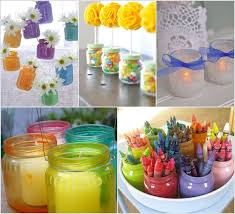 15 awesome ideas to recycle baby food jars for home decor