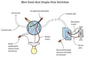 dead end single pole switches jlc electrical electrical