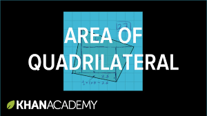 how to find the area of a strange quadrilateral on a grid