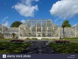 National Botanic Gardens Dublin by The Curvilinear Glasshouse Constructed 1843 69 By Richard Turner