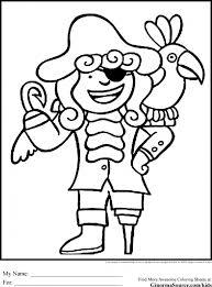 pirate coloring sheet eliolera