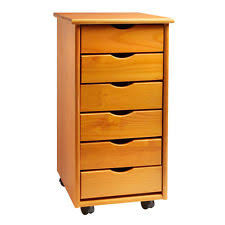 Rolling Storage Cabinet Rolling Wood Kitchen Island Trolley Cart Bamboo Top Storage