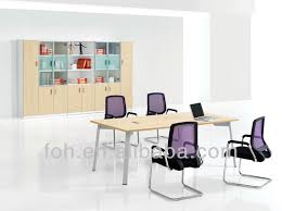 conference table and chairs set modern conference room table and 6 black leather chairs set