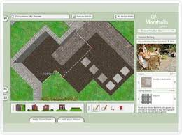 Marshalls Patio Planner Plan Design U0026 Visualise Midas Touch Landscapes Hertfordshire