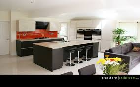 view of the large open plan bespoke kitchen extension u2013 transform