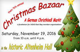 christmas bazaar 2016 the excelsior german center