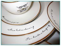days of dinner plates