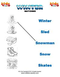 winter activities games and worksheets for kids