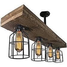 Edison Bulb Island Light Navimc Industrial Rustic Wagon Wheel Chandeliers Pendant Light