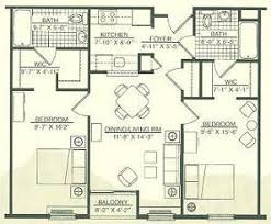 Two Bedroom Two Bath House Plans Wingler House