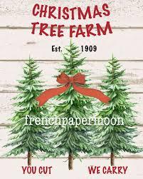 digital christmastree download hand drawn christmas trees