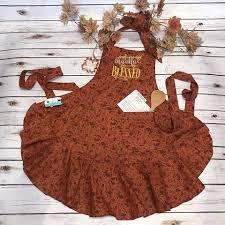 custom handmade aprons for using a vintage style carli s closet