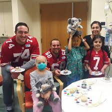 what do san francisco 49ers do on their stanford children s