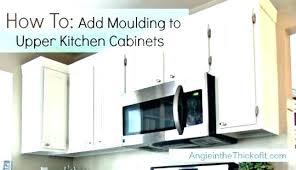 decorative molding kitchen cabinets crown molding on top of kitchen cabinets upper cabinet moulding