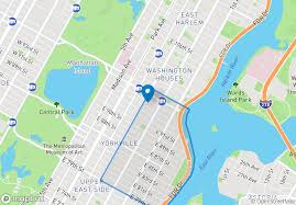 Met Museum Map The Omni At 206 East 95th St In Yorkville Sales Rentals