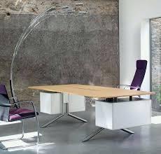 bureau contemporain pas cher ensemble de bureau contemporain coloris bouleau gris alrun pas cher