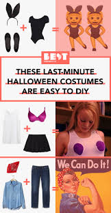 31 Best Last Minute Halloween Costumes For 2017 Easy Diy
