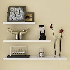 Floating White Shelves by A Bunch Of Benefits And Versatility On Using The Floating Wall