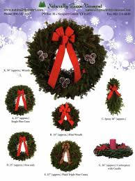 Wreaths Wholesale Naturally Green Vermont Wholesale Wreaths For Fundraising